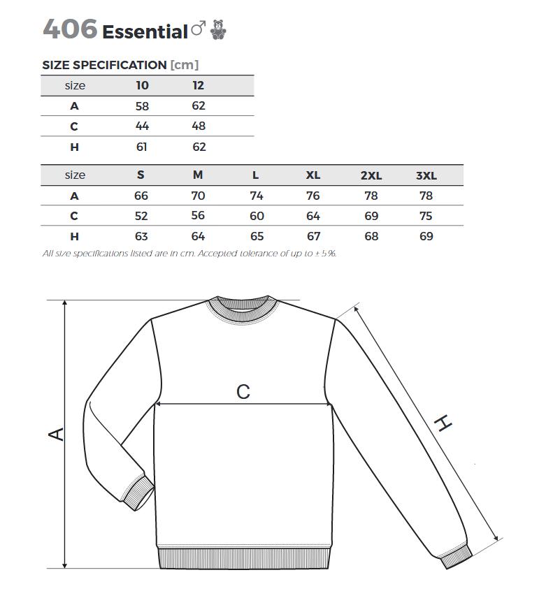 Mikina pánská Essential 300 - Sucom production s.r.o. 87f0ed7641